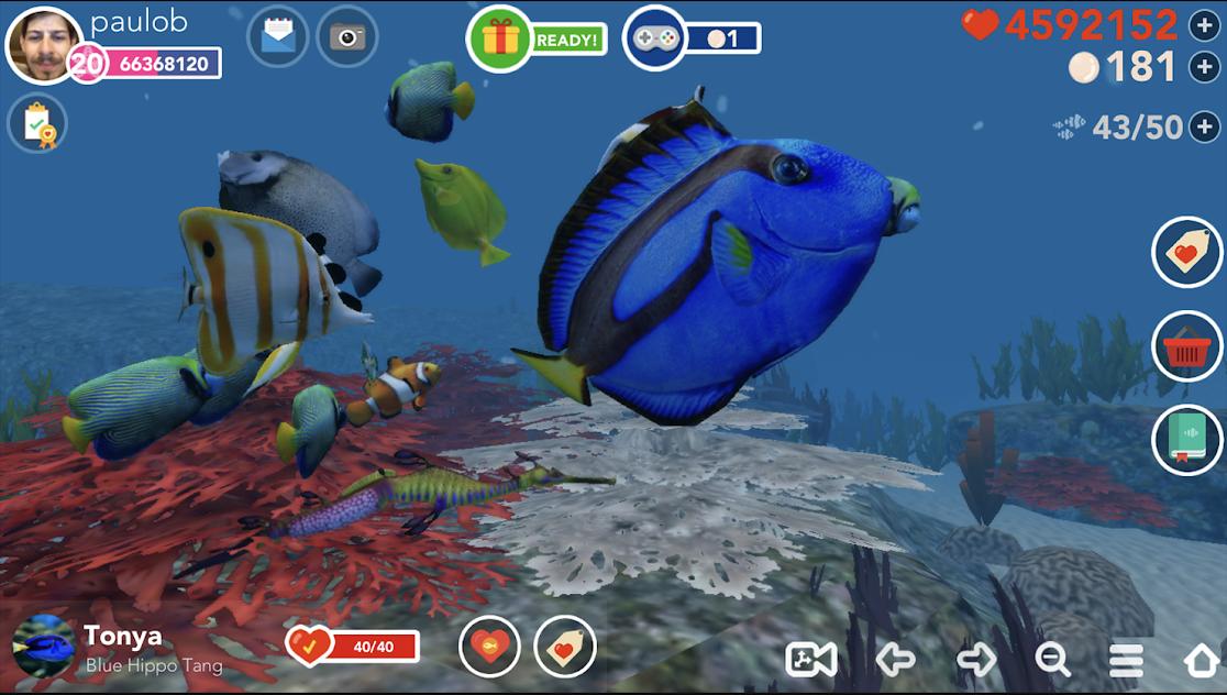 Ocean Reef Life 游戏截图1